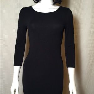 Black body on mini dress 💕